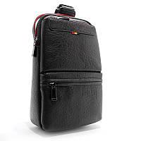 Рюкзак на одно плечо Bolo банан слинг bol-1334 bla черный, фото 1