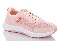 Женские кроссовки спортивные розовые демисезонные ILA Fashion 1145235474