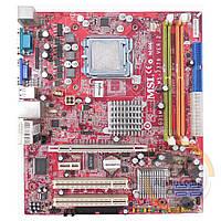 Материнская плата MSI MS-7379 V2.0 (s775/G31/2xDDR2) БУ