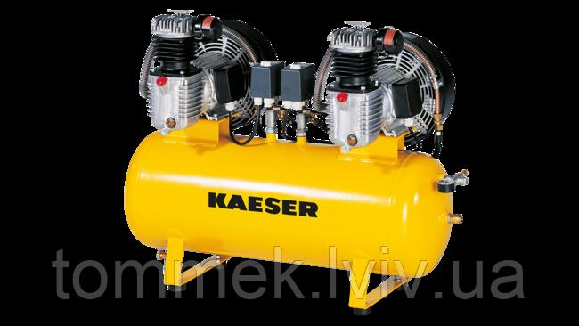 Подвійний компресорний агрегат KAESER KCD 350-100 (2*350 л/хв, 10 бар)