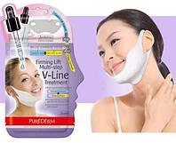 Маска для моделирования контура лица PUREDERM Firming Lift Multi-step V-Line Treatment