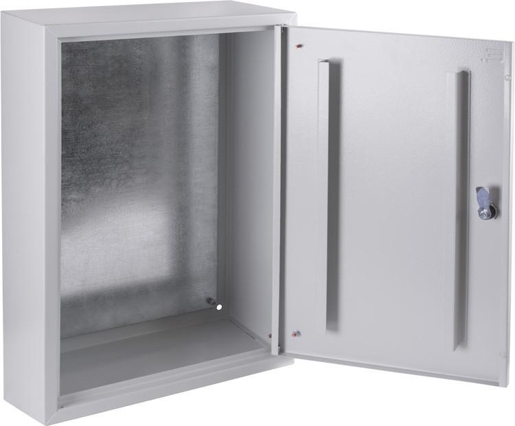Бокс металлический 600х400х200 IP31 с монтажной панелью