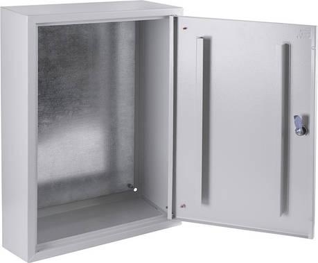 Бокс металлический 600х400х200 IP31 с монтажной панелью, фото 2
