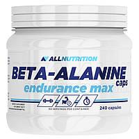 Бета-аланин All Nutrition Beta-Alanine Endurance Max 240 caps