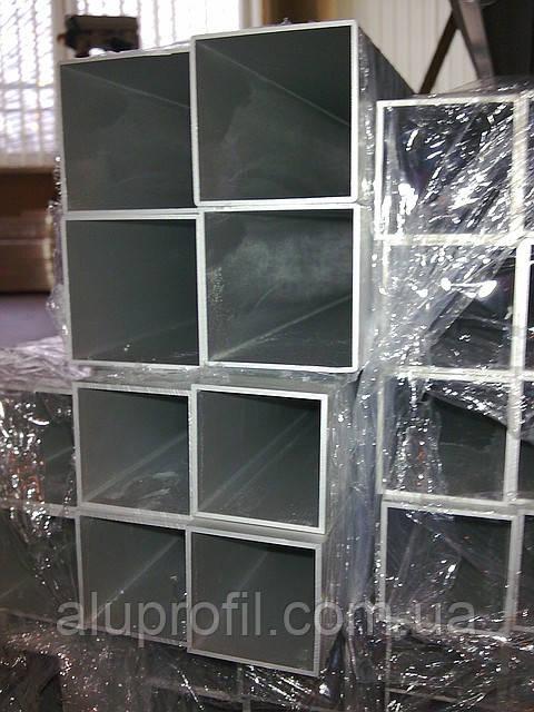 Алюминиевый профиль — труба алюминиевая квадратная 50х50х2 Б/П
