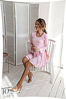Короткое женское платье