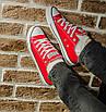 Кеды Converse Style All Star Красные низкие (44р) Тотальная распродажа, фото 10