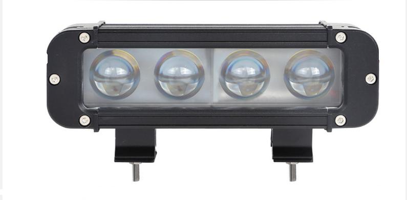 LED фара 40W линза 4D 3200 Lm
