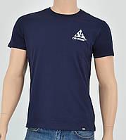 Мужская футболка Off-White Crew(реплика) Синий