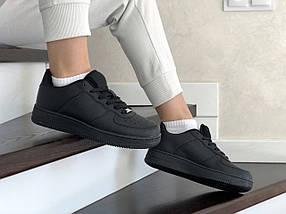 Женские кроссовки черные демисезонные, фото 3