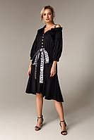 Дизайнерское платье из хлопка Raslov 113