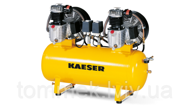 Подвійний компресорний агрегат KAESER KCD 840-350 (2*630 л/хв, 10 бар)