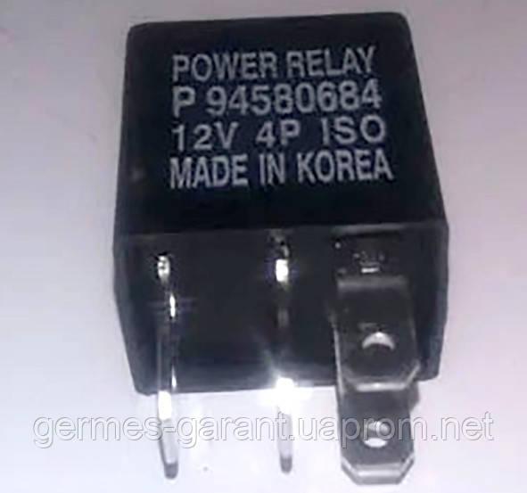 Реле стартера 4 контактне Daewoo Lanos ДЕУ Ланос 94580684 ONNURI