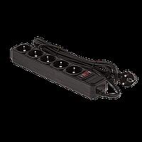 Сетевой фильтр LP-X5, 3,0 m Black (OEM)