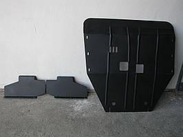 Захист двигуна Ford TRANSIT 2000-2006 з бічними пластинами (двигун+КПП)