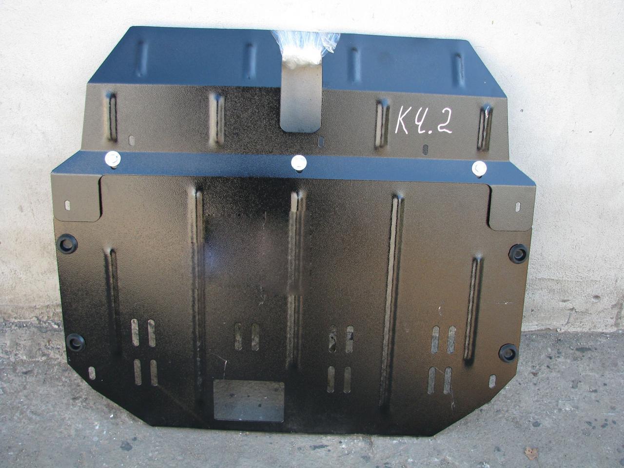 Защита двигателя Hyundai H-1 1997-2007 МКПП 2.4, 2.5TD (двигатель+КПП)