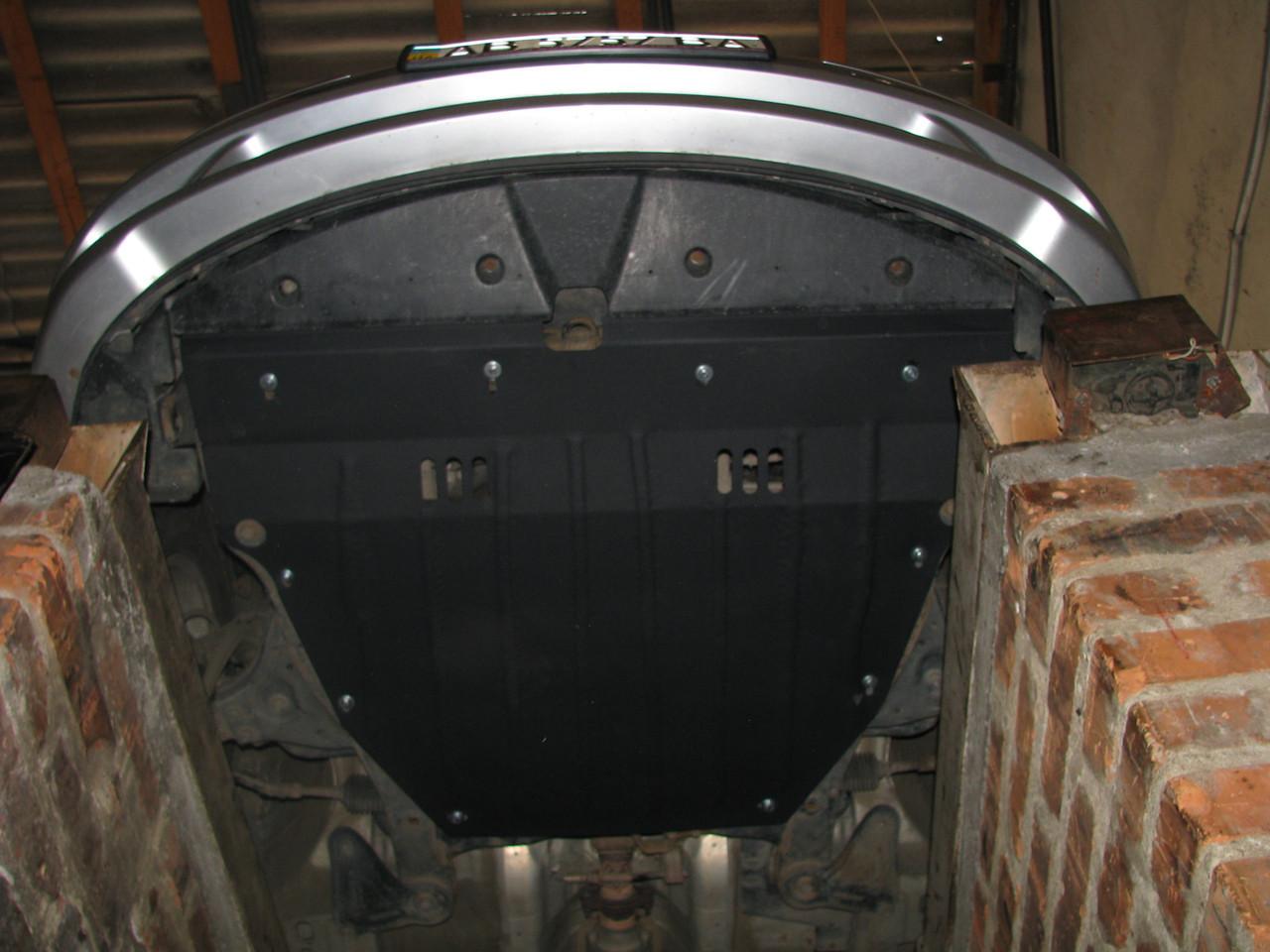 Защита двигателя Hyundai SONATA NF 2004-2009 АКПП Все двигатели (двигатель+КПП)