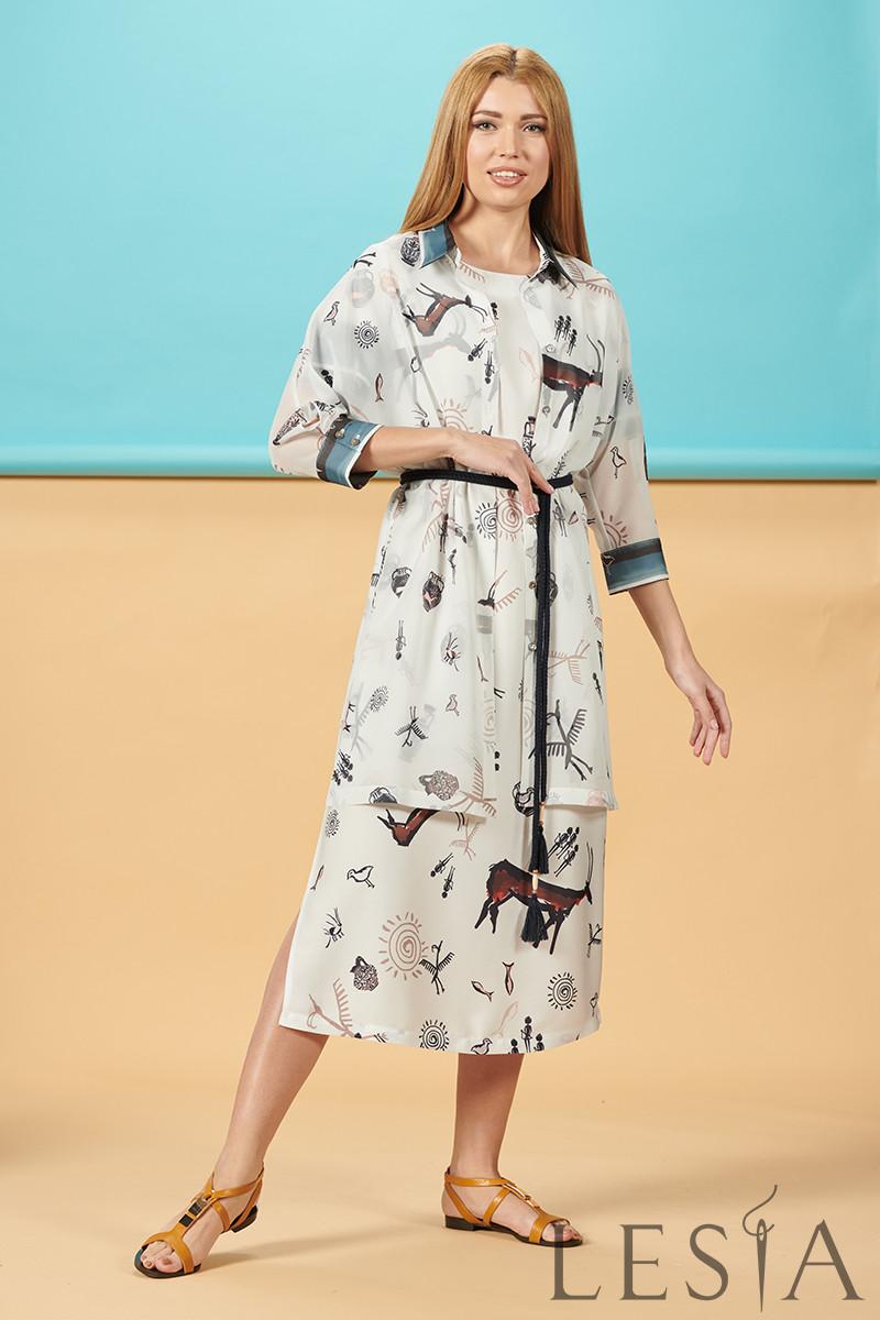 Літнє плаття в тваринний принт Lesya Себек.