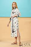 Літнє плаття в тваринний принт Lesya Себек., фото 3