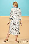Літнє плаття в тваринний принт Lesya Себек., фото 2