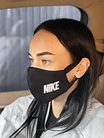 Брендовая защитная маска Nike D9439 черная