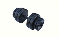 Гантель композитная RN-Sport 16 кг - 1 шт + Эспандер, фото 1