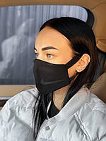 Брендовая защитная маска Nike D9440 черная