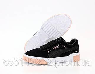 Женские кроссовки Puma Cali (черные)