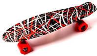 "Penny Board ""Red design"", фото 1"
