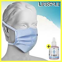 Защитная маска - (50 шт по 14 грн.) / Маска на завязках хорошего качества
