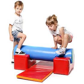 Дитячий ігровий тренажер Бар'єр з м'яких модулів