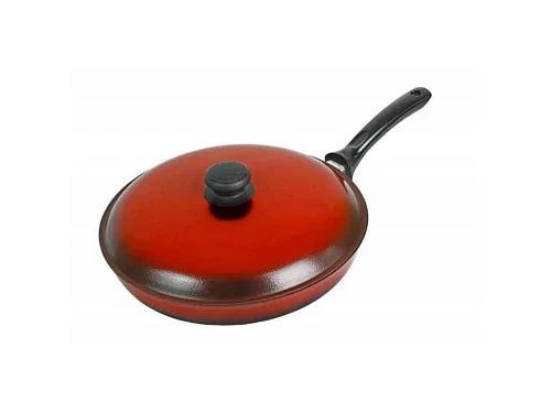 Сковорода 26 см эмалированная мелкая ЭС26мрк
