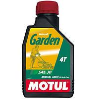 Масло для 4-х тактных двигателей минеральное MOTUL Garden 4T SAE 30 0,6л. 106999/309700