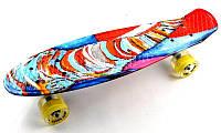 """Penny Board """"Funny elephant"""" Светящиеся колеса., фото 1"""