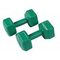 Гантели для фитнеса Filter пластиковые 2 шт по 2 кг