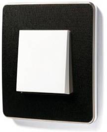 Рамки Unica New Studio Metal (для белых механизмов)