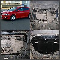 Защита двигателя Seat LEON 2005-2013  (двигатель+КПП)