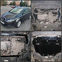 Защита двигателя Seat TOLEDO 2004-2009 МКПП/АКПП Все двигатели (двигатель+КПП)