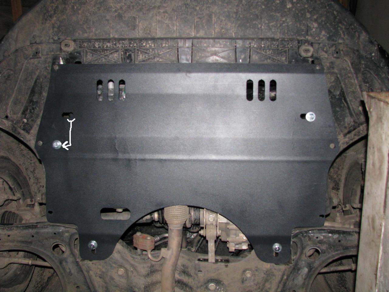 Защита двигателя Skoda FABIA 2007- МКПП 1.4, 1.6 (двигатель+КПП)