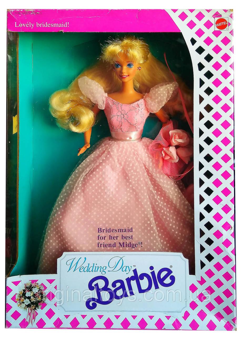 Коллекционная кукла Барби Подружка невесты Barbie Wedding Day Bridesmaid for Midge 1990 Mattel 9608