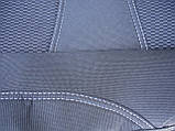 Авточехлы Citroen C-Elysee (з/сп. цельная) 2012- Nika, фото 7