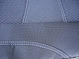 Авточехлы Citroen C-Elysee (з/сп. раздельная) 2012- Nika, фото 7