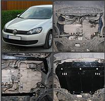 Защита двигателя  Volkswagen GOLF 5/6 Все двигатели (двигатель+КПП)