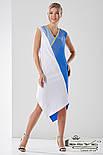 Платье свободного кроя с ассиметричным низом Lesya Лулу., фото 2