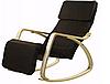 Крісло гойдалка Goodhome Brown, 120кг