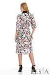 Сукня-сорочка в рослинний принт Lesya Шайна., фото 3