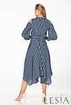 Смугасте плаття-сорочка з легкої натуральної тканини Lesya Ірану., фото 3