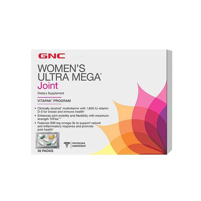 Womens Ultra Mega Joint (30 packs) GNC