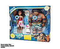 Лялька MOANA Комплект Бог Мауї і Ваяна, фото 1