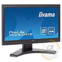 "Монитор 22"" Iiyama ProLite T2250MTS (TN/16:9/VGA/DVI/MultiTouch) class B БУ"